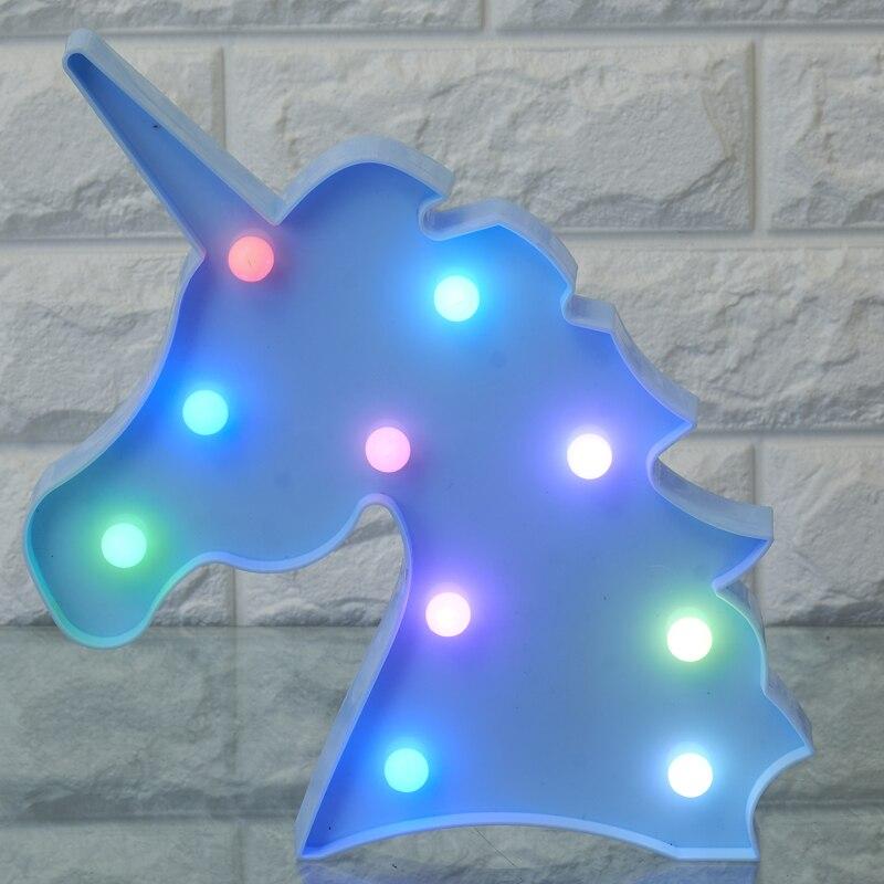Click here!! Dcrlamp Симпатичные Единорог ночник красочные освещение  детские игрушки светодиодный подарки мультфильм животных 3D шатер  настольная лампа Ук.. 11112d9e93f