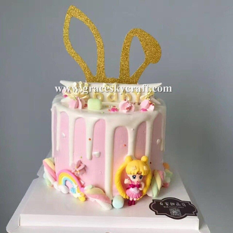 Brilliant 12Pcs Free Shipping Glitter Purple Gold Silver Birthday Cakes Funny Birthday Cards Online Ioscodamsfinfo