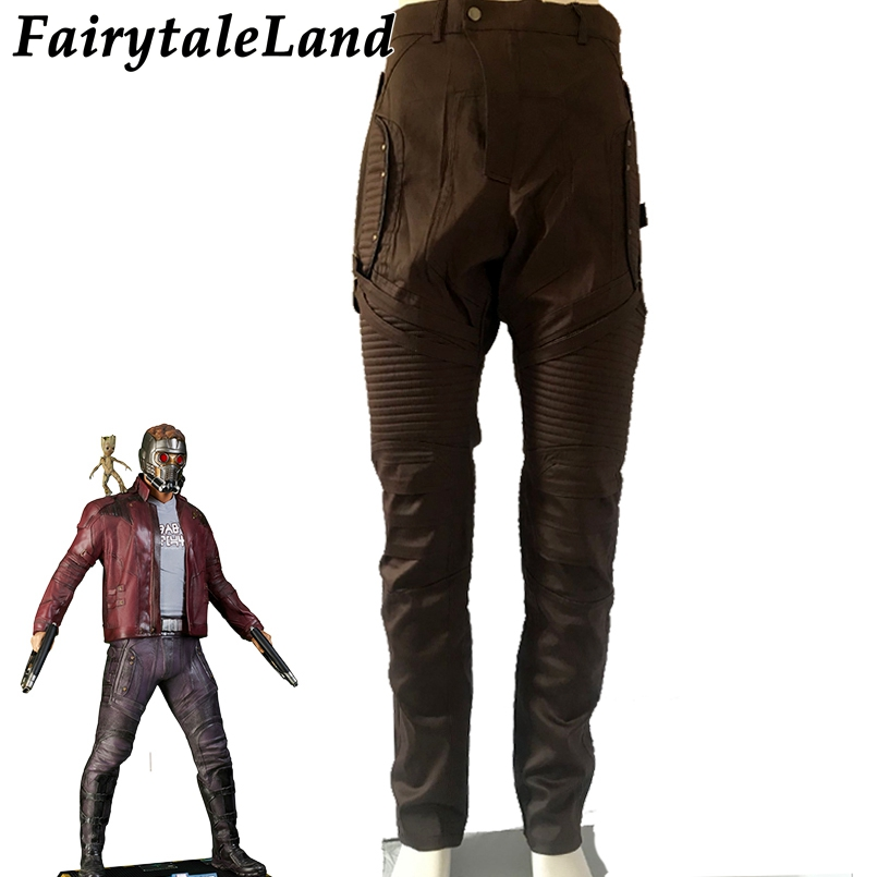 Star Lord Pants Custom Made Casual Pants Guardians of the Galaxy Cosplay Superhero Pants Halloween Cosplay