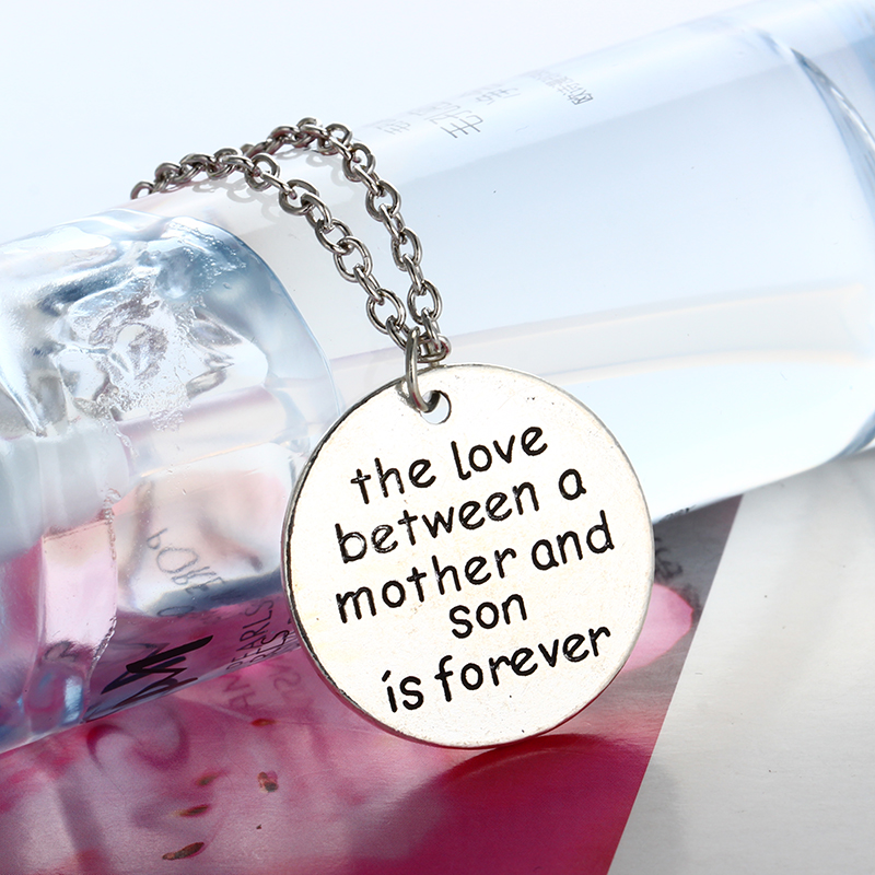 Love Between A Mother Son Is Forever Pendant Necklace Mom Mommy ...