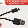 100% nuevo para xiaomi note3 micro usb data cable de carga rápida cable sync cargador cable plano para redmi 3x xioami teléfono móvil