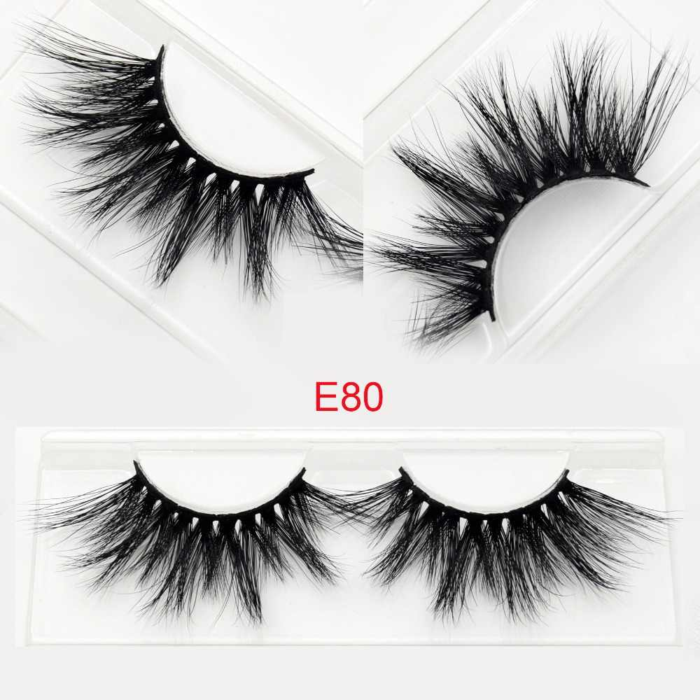 6ef4d9af9d6 Visofree Mink Eyelashes False Eyelashes Natural Fake lashes Long 25mm Lashes  Makeup 3D Mink Lashes Extension