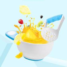 Baby Tableware Dinnerware Suction Bowl Baby Fruit Food Grinding Bowl Kids Safety Dinner Feeding Dishes(China)