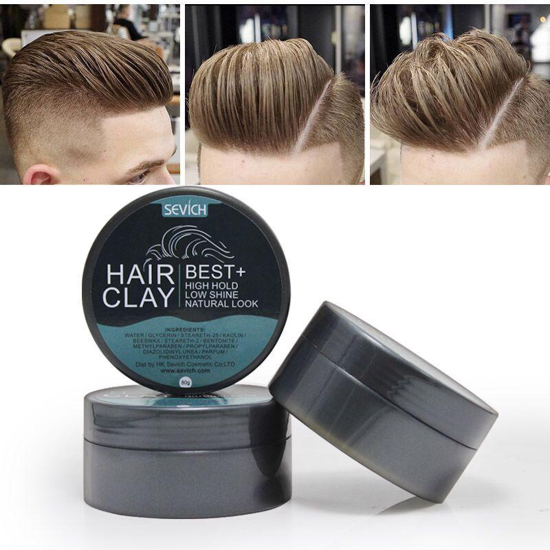 SEVICH productos mate cera cabello barro envío gratis China Post pomada cera esqueleto crema profesional cabello fuerte estilo