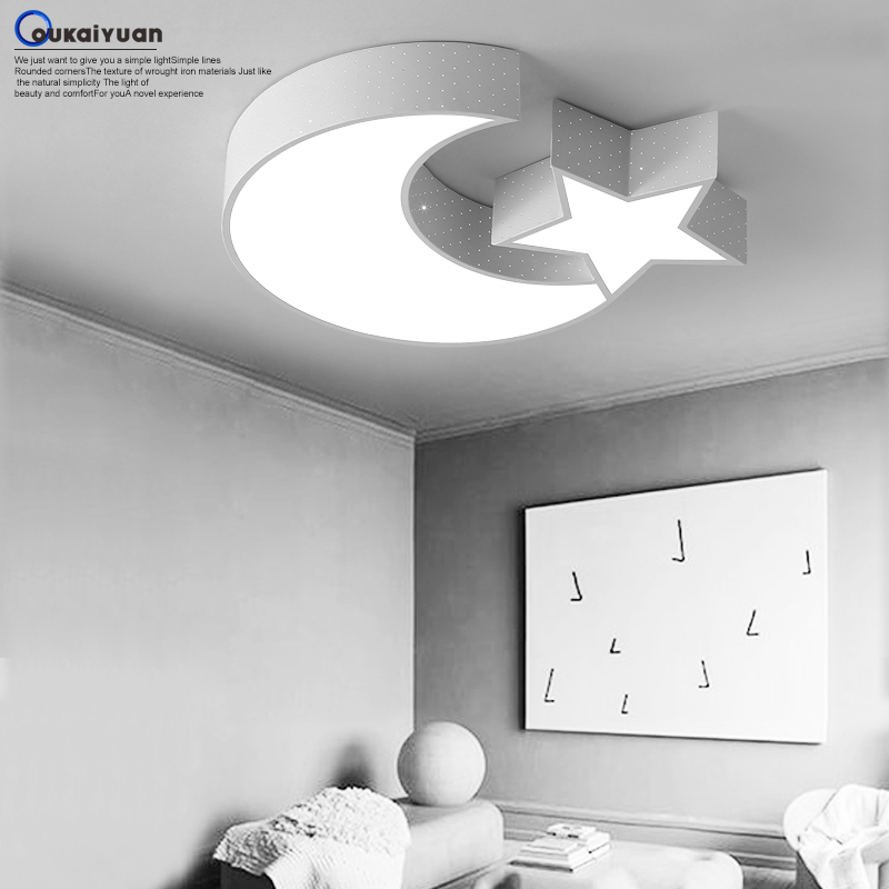 Children lamp study moon and stars ceiling lights simple modern children lamp study moon and stars ceiling lights simple modern living room lamps and ceiling lamp bedroom restaurant in ceiling lights from lights mozeypictures Gallery