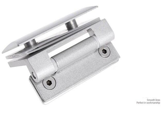 Calidad superior de acero inoxidable 304 de montaje en pared Glass Door ducha bisagra