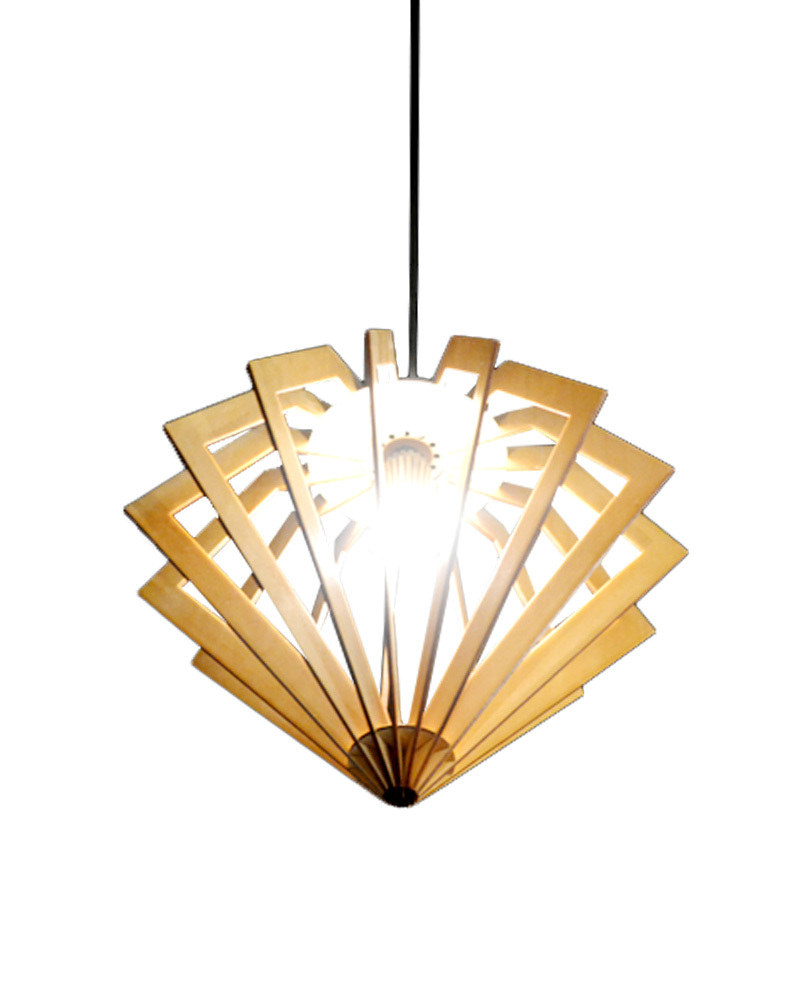 ems free shipping e27 pendant light large diamond wooden shade