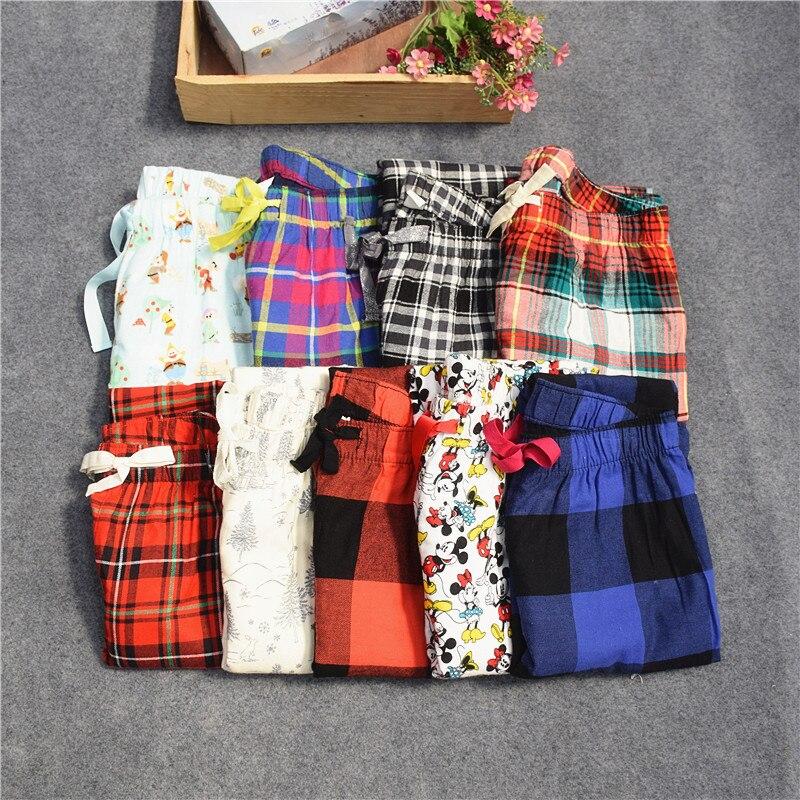 Женские брюки; длинные брюки; тканые хлопковые брюки для сна; женские брюки