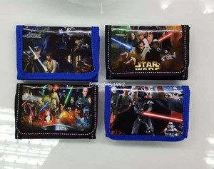 12Pcs Star Wars Darth Vader & Storm Trooper Yoda Coin Purse Kids Cartoon Wallet Bag Pouch Children Purse Small Wallet Party Gift