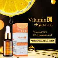100% Pure Vitamin C Serum Liquid Freckle Removal Acne Scars Hyaluronic Acid Anti-wrinkle Vc Face Serum Fade Dark Spot