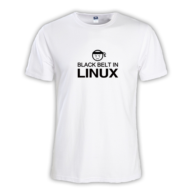 2018 Летняя мода Мужская футболка мастер NERD freak хакер pc gamer программиста систем топы для мальчиков футболки кобели черный ремень Linux одежда