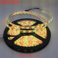 100 meters DC12V 5m/roll 5050 RGB LED Strip Light 60LED/M 300LEDs IP20 IP65 Waterproof Flexible Tape For Family Party Decoration