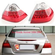 MIZIAUTO Rear Tail Light for Honda Accord 2006-2007 7 Generation taillight assembly rear light brake