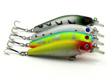 200pcs HENGJIA 8.5cm 10.3g isca Artificial Fishing Lures Hard Plastic Swim bait 3D Fish Eye Crankbait China Factory Direct Sale(China)