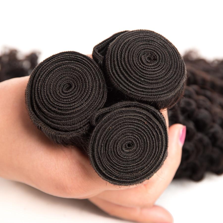 Հրաշք աղջիկ Մազերի երկարացում - Մարդու մազերը (սև) - Լուսանկար 5