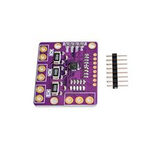 10pcs I2C SMBUS INA3221 Triple Channel Shunt Current Power Supply Voltage Monitor Sensor Board Module Replace INA219 With Pins