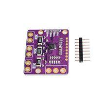 Fuente de alimentación de derivación de Triple Canal, Módulo de placa del Sensor de Monitor de voltaje, reemplazo con pines INA219, 10 Uds. I2C SMBUS INA3221