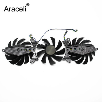 GA92S2U GTX-1080 GPU VGA Card Cooler Fan For ZOTAC GeForce GTX1070Ti-8GD5 GTX1080-8GD5X Graphics Cards As Replacement image