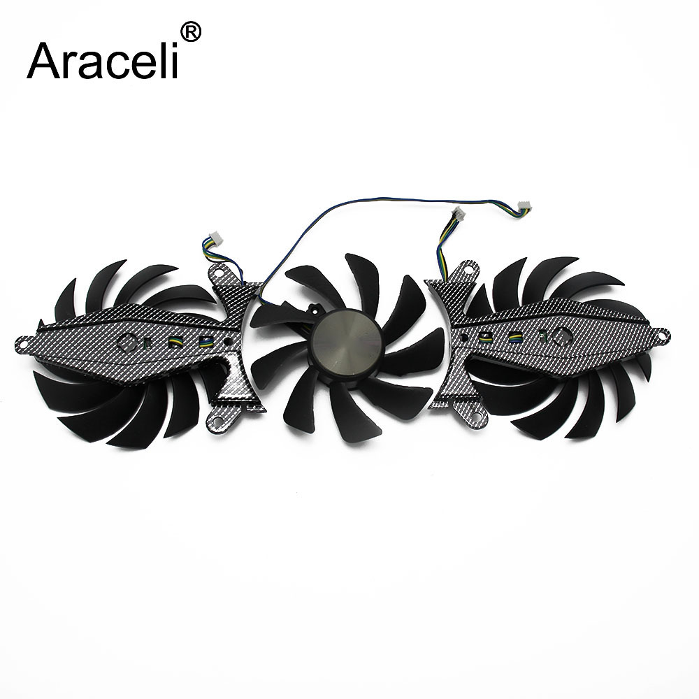 GA92S2U GTX-1080 GPU VGA Card Cooler Fan For ZOTAC <font><b>GeForce</b></font> <font><b>GTX1070Ti</b></font>-8GD5 GTX1080-8GD5X Graphics Cards As Replacement image