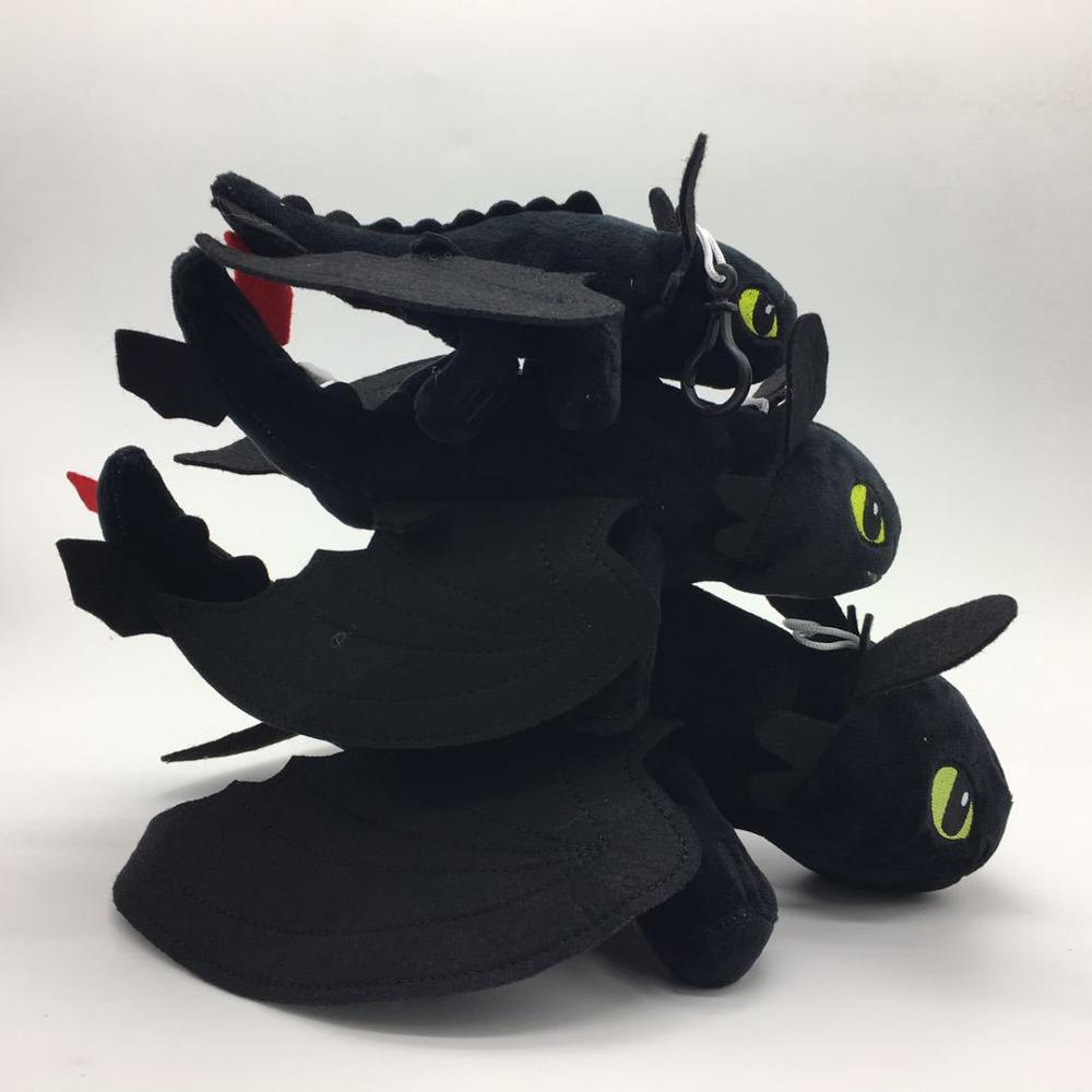 19 35cm Toothless Night Fury Plush How To Train Your Dragon plush toy doll WJ065 in Movies TV from Toys Hobbies