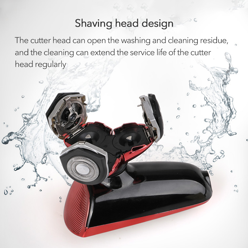 NoEnName_Null Three Blade Shaving machine For men 3H charging Multifunctional Mens Electric Shavers 100 240V in Electric Shavers from Home Appliances