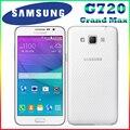 hot sale 100% Original unlocked Samsung Galaxy Grand Max G720 G7200 1.5GB RAM 16GB ROM 5.25'' 13.0 MP Cellphone Free shipping