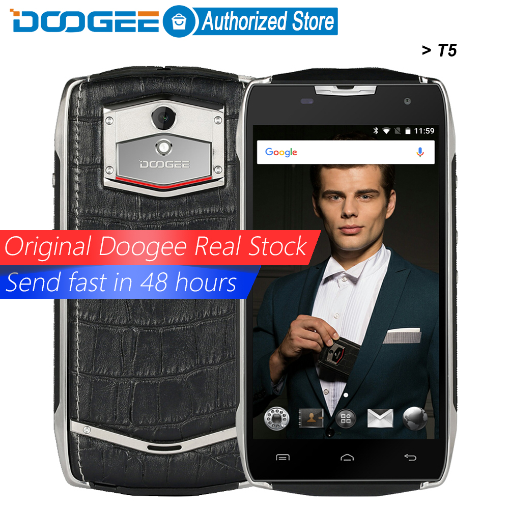 Doogee T5 mobile phones IP67 Waterproof 5 0Inch HD 3GB RAM 32GB ROM Android 6 0