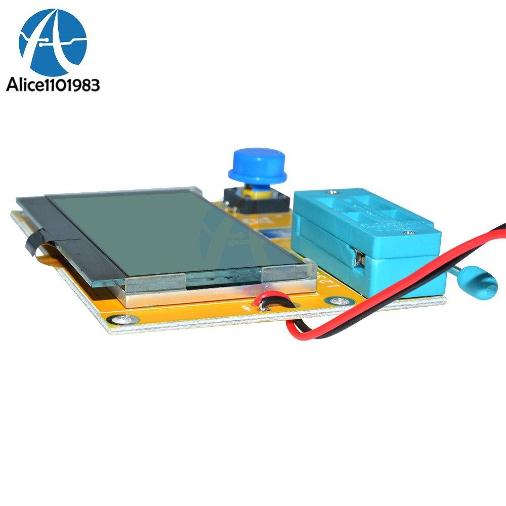 Mega328 M328 LCR T4 ESR Meter LCR led Transistor Tester Diode Triode ...