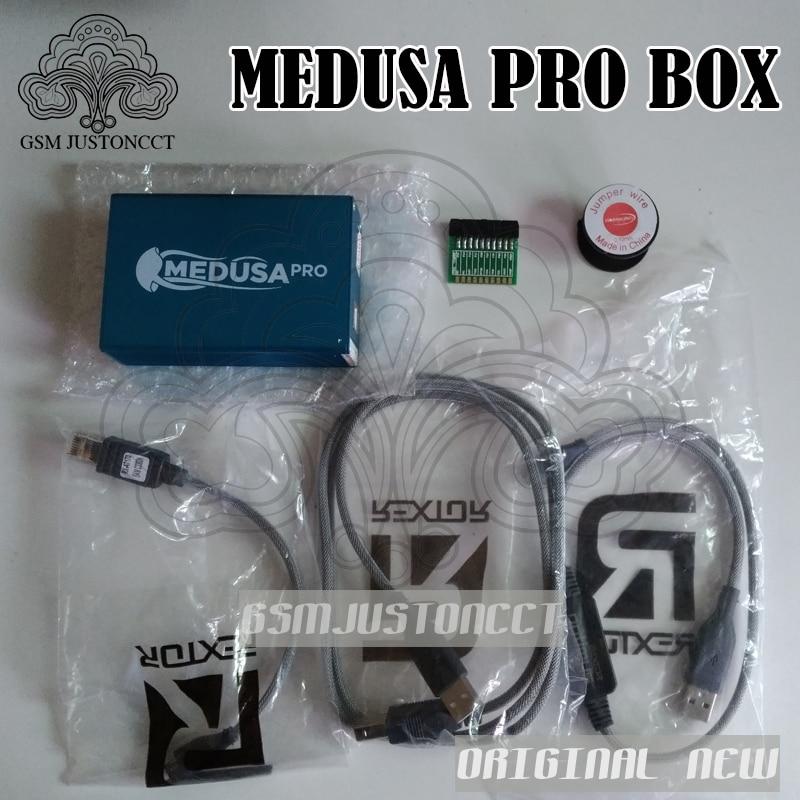 Original nuevo Medusa PRO box Medusa Box + JTAG clip MMC para LG para Samsung para Huawei con cable Optimus