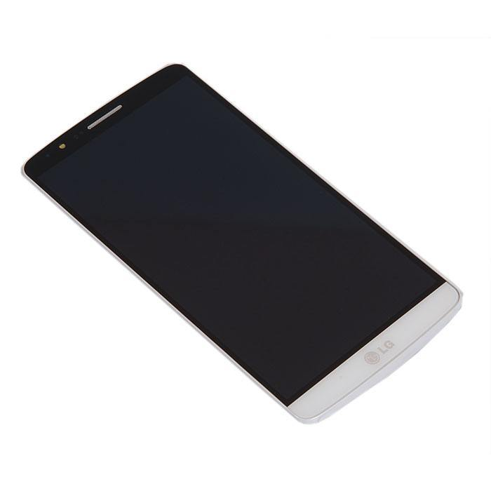 ФОТО display assembly with touchscreen for LG for G3 D855, White