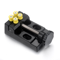 1PCS New Arrival Professional Flat Clamp Bench Vise Olive Carving Tool Length 11cm Width 6 1cm