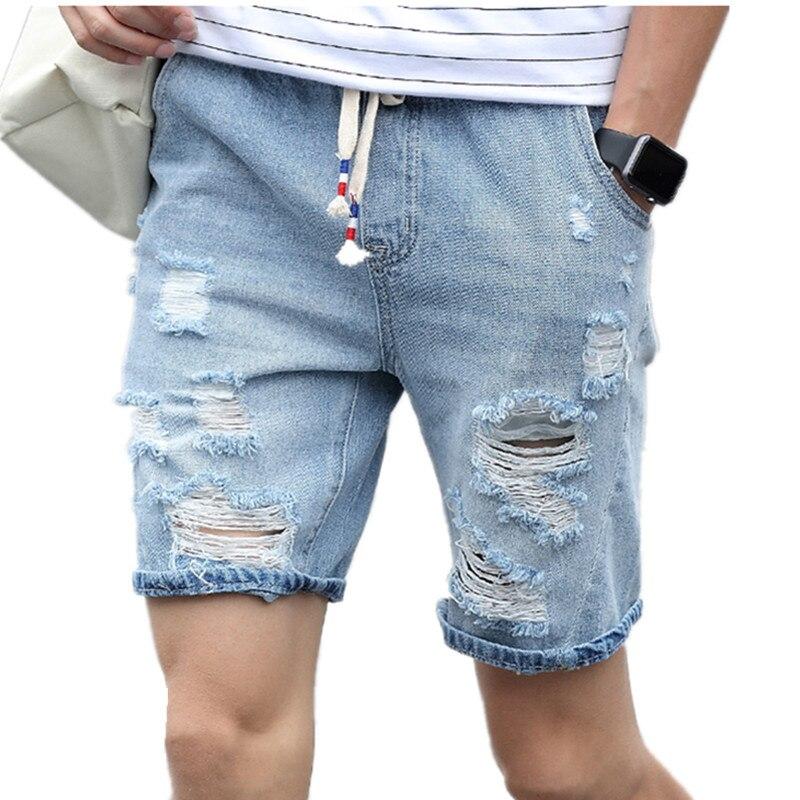 Online Get Cheap White Ripped Mens Shorts -Aliexpress.com ...