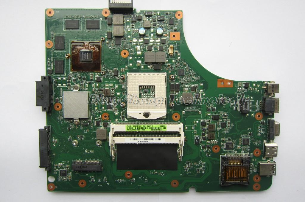 laptop Motherboard for Asus k53sv rev 3.0 3.1 2.1 2.3 GT540M 2GB with 8 video chips non-integrated graphics card 100% tested