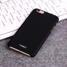 For iPhone 6 6s Luxury Cases Xinbo 0.8 mm Thin Smooth Plastic Hard Case Cover Coque For Apple iPhone 6 6s Accessories Black