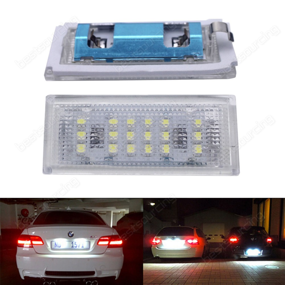 LED Licence Number Plate Light White Error Free 3 Series E46 Coupe 04-06 M3(CA159) 2 white led licence number plate light canbus error free 07 15 smart fortwo w451 ca238 page 2 page href