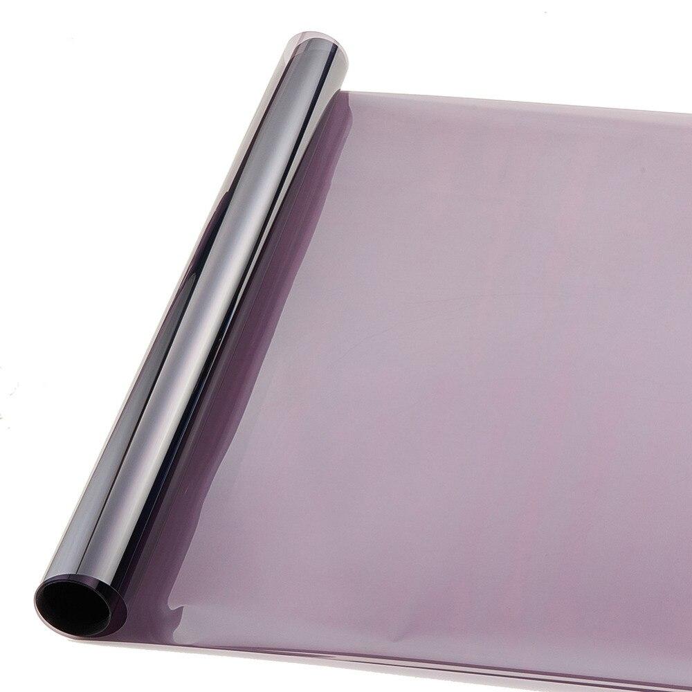 Teinte De Gris Clair €7.05 34% de réduction|0.5*3 m gris clair uv + isolation film de teinte de  fenêtre de voiture vlt 45% film de protection solaire 2 plis|window tint