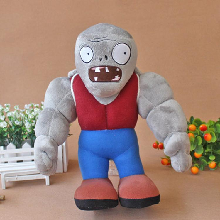 Plants vs Zombies Gargantuar Plush Toys Dolls 30 and 50cm Plants vs Zombies Large Soft Plush Stuffed Toys for Kids Party Toy the zombies колин бланстоун род аргент the zombies featuring colin blunstone