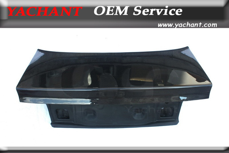 Car-Styling Carbon Fiber Trunk Tailgate Fit For 1993-1996 Evolution EVO 1-3 EVO1 EVO 2 EVO3 OEM Style Rear Trunk Boot Lid