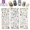 KADS 3sheet/Set Monroe and Audrey Hepburn & lace design Nail tips nail sticker for nail art decal for water nail sticker