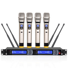 UHF wireless microphone professional stage performance Conference speech waist Baotou lead