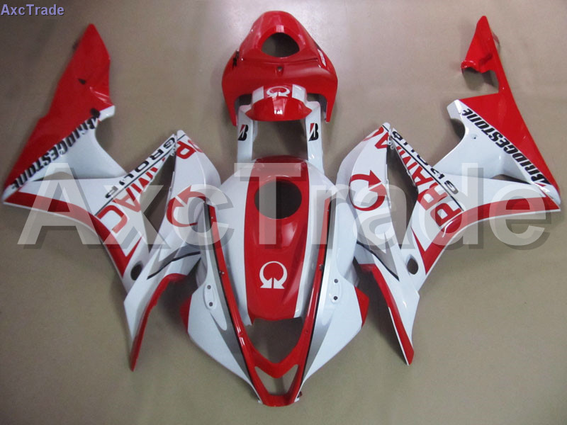 Bodywork Moto Fairings FIT For Honda CBR600RR CBR600 CBR 600 RR 2007 2008 F5 Fairing kit High Quality ABS Plastic Red White C93 custom made motorcycle fairing kit for honda cbr600rr cbr600 cbr 600 rr 2007 2008 f5 abs fairings kits fairing kit bodywork c99
