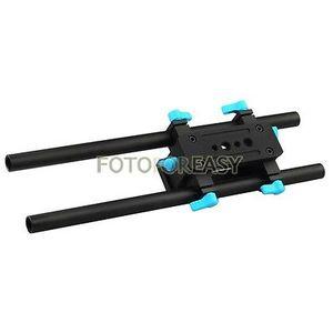 Image 4 - FOTGA DP3000 15mm Rail Rod Advanced Baseplate For HDV DSLR Follow Focus Rig 5D2 free shipping