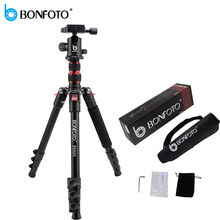 BONFOTO B690A Lightweight Tripod Monopod Portable Travel Camera Stand with Ball Head and Carry Bag for SLR DSLR Digital Camera triopo gt 2510 slr camera tripod with ball head portable monopod