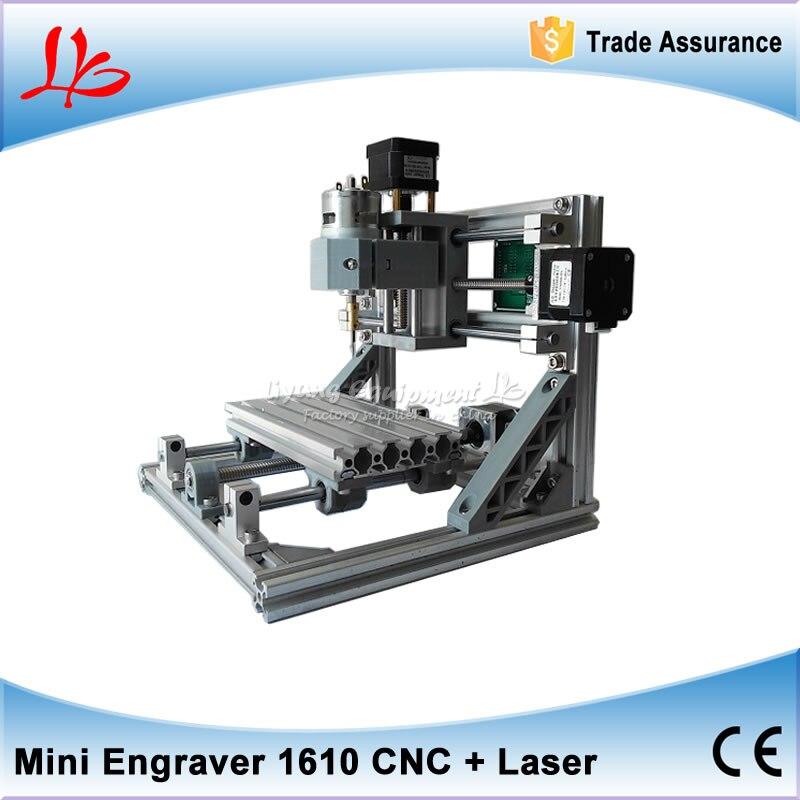 GRBL control DIY engraving machine CNC 1610, can change to 2500MW laser cnc machine, Russia free tax diy cnc machine 2520 base frame kit cnc engraving machine router machine free tax to russia