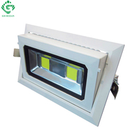 Rectangular Recessed COB Led Downlight 50w Led Light Rotatable Lamp Adjustable Flood Lamp Home Led Light