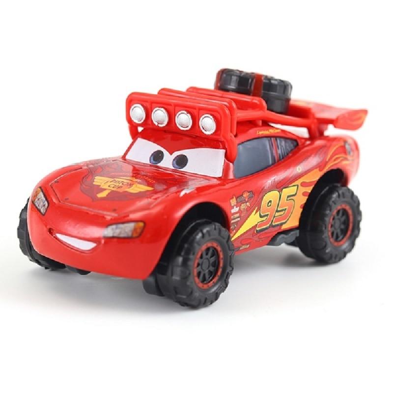 Disney Pixar 2 3 Lightning McQueen SUV Chick Hick Cruz 1:55 Die-cast Metal Alloy Toy Is The Best Christmas Gift For Children.