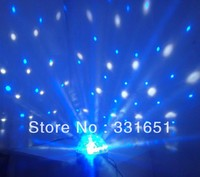 6pcs Lot LED Crystal Magic Ball 6x3W RGBWA RGB DMX 6 Channels Disco Party Lightis