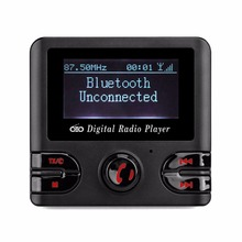 DAB Digital Radio Receiver FM Tuner Radio Bluetooth Tabletop Wireless Vehicle Broadcasting With FM Transmitter USB