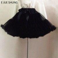 Free Shipping 2015 Short Dress Petticoat Underskirt Swing Black Lolita Petticoat Ballet Tutu Skirt Rockabilly Crinoline