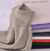 Women S Cashmere Pullovers And Sweaters Autumn Winter Turtleneck Sweater Female Wool Elastic Slim Knitted 2016